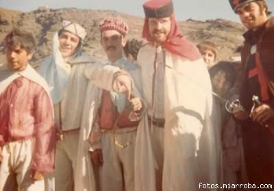 Moros y Cristianos año 1978 en el Puente