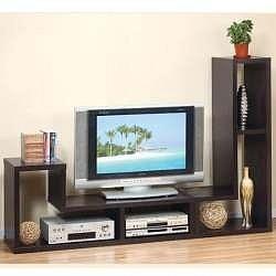 Mueble multifuncional tv biblioteca modular otros for Como hacer un mueble para tv