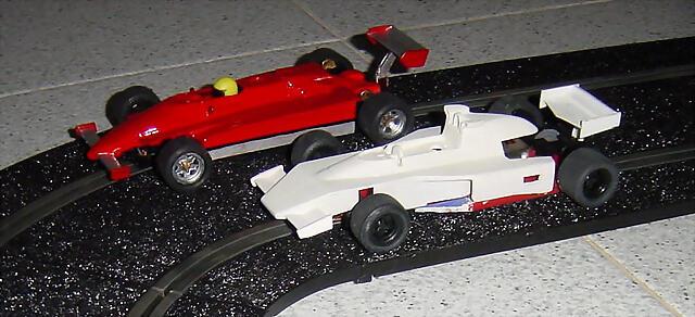 Ferrari 126-C2 i McLaren M23-6