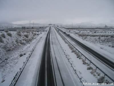 Autovía A92 Gérgal enero 06