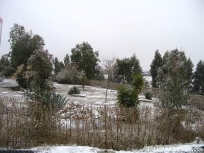 Parque El Cable Gérgal nevado enero 06