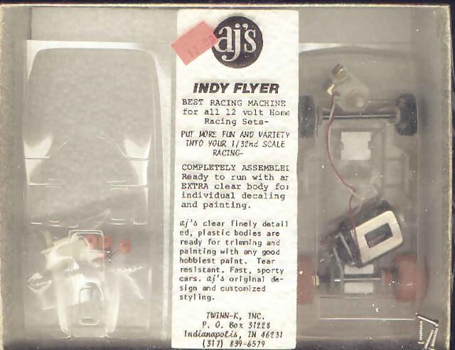 AJS Indy Flyer Lexan Box 2