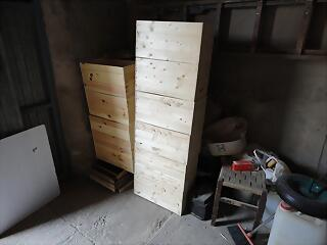 12 cajas finalizadas