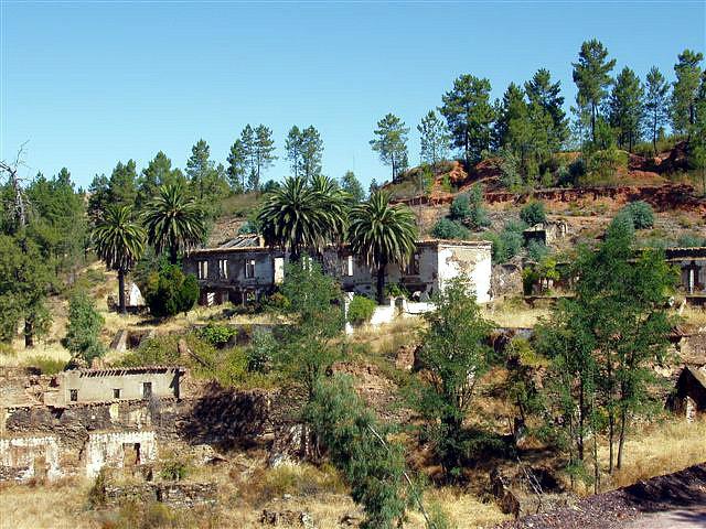 Poblado de mina San Miguel, casa dirección