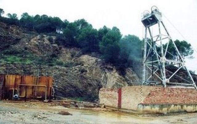 Pozo San Isidro, mina de Sotiel Coronada
