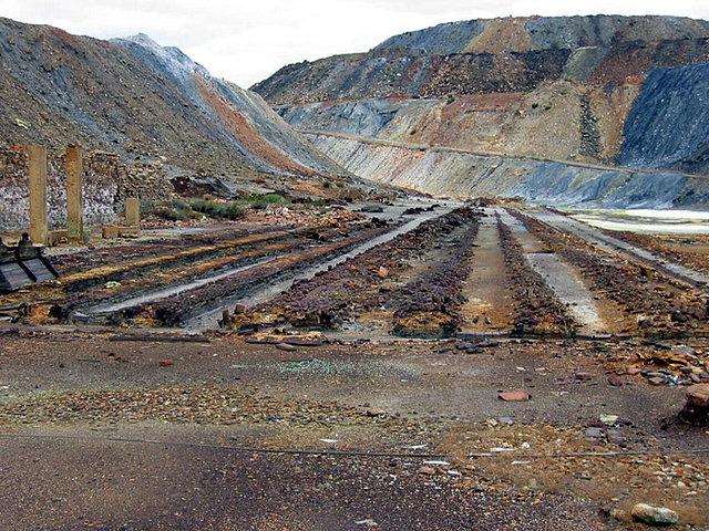 Mina de Tharsis, Balsas de Lixiviacion