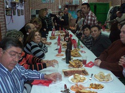 cena de la comparsa mora al-hofra