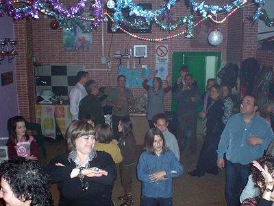 bailando al ritmo de la disco movil