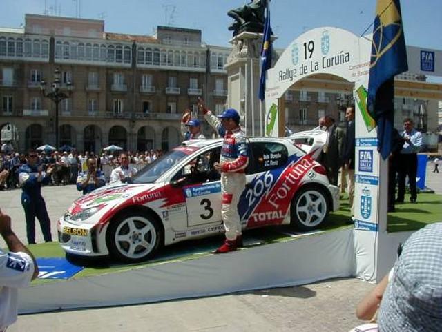 Peugeot 206 WRC -- La Coruña Monzon