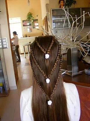 Adornos para peinados de niña Primera Comunion Final Espiga