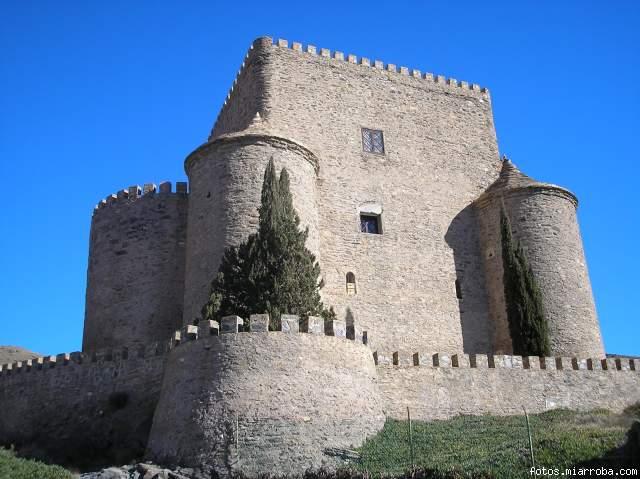 Castillo Gérgal perspectiva
