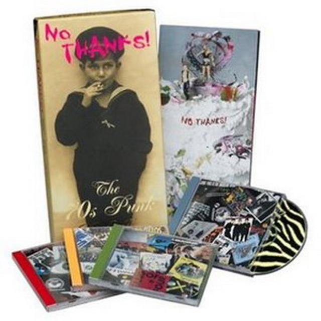 VA - No Thanks! - The 70s Punk Rebellion (WavPack) (4 CDs Set) - 2003