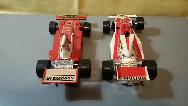 Airfix McLaren & Ferrari (4)