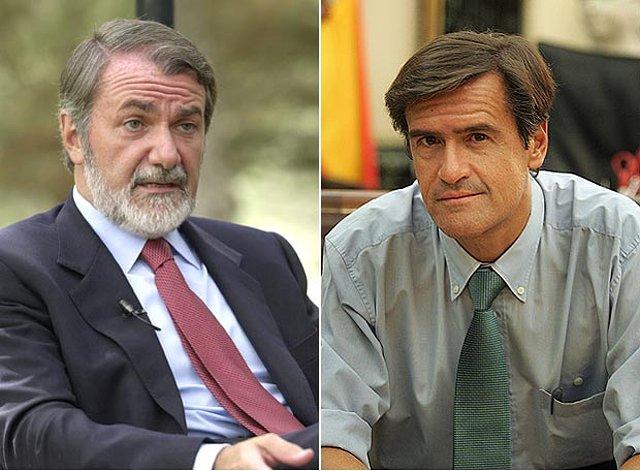 M .Oreja y L. Aguilar. Foto tomada de El País