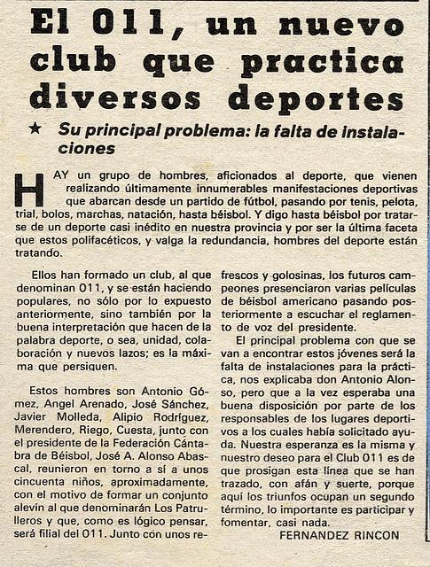 1978 Nuevo club