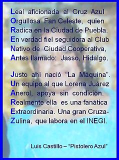 Lorena Juárez - Acróstico