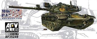 AFV+CLUB+KIT+#+35249+1-35+M60A3+PATTON+MAIN+BATTLE+TANK