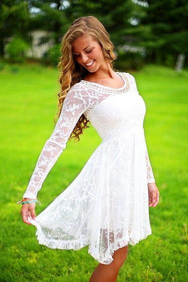 Estilo de Pelo Largo Rubio Ondas largas para vestidos de Novia Cortos