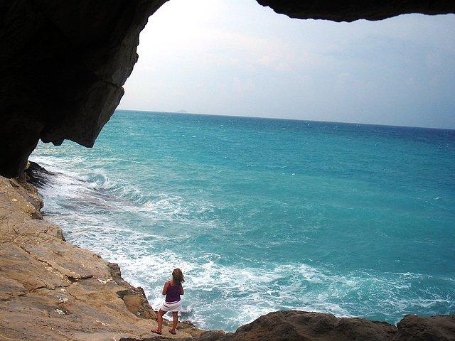 Charo entre playas La Caleta y Charco