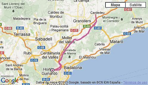 Bicicleta Cardedeu (T?ndem). 26-01-2013