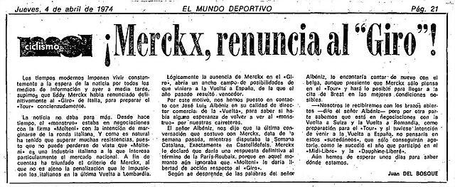 Merckx Giro no