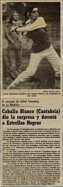 1983.10.08 Campeonato España A sófbol