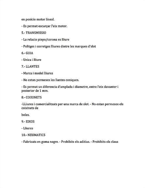 reglament COPA SNw.