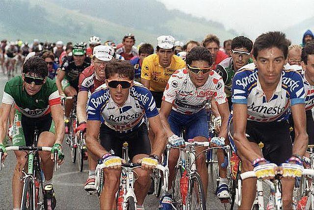 Perico-Tour1991-Chozas-Indurain-Chiappucci-Bugno-Rooks