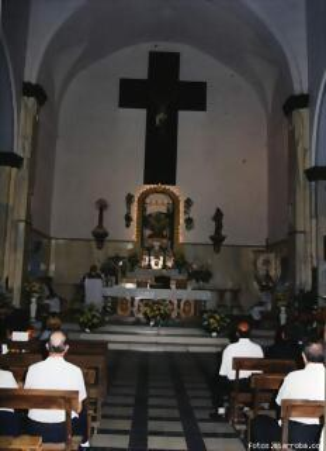 Altar Mayor Iglesia de Gérgal