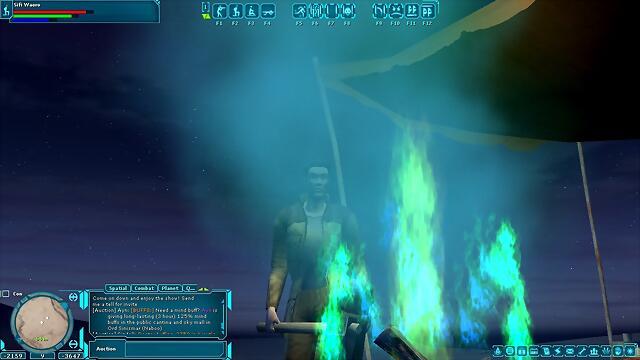fuego místico gungan