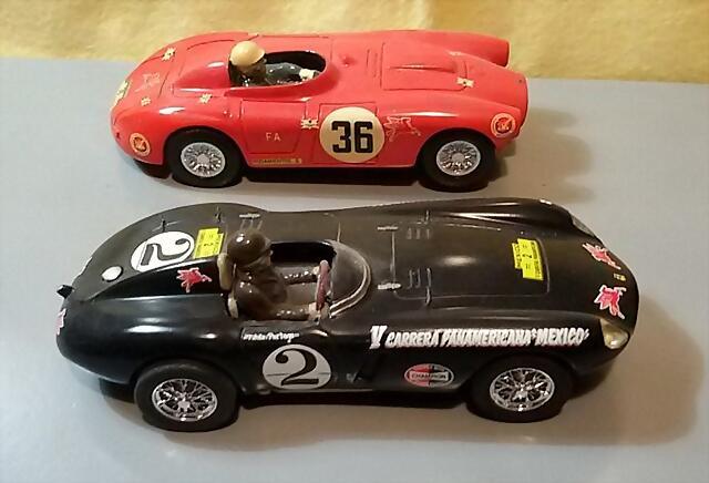 BUM Lancia D24 & Ferrari 750 Monza (2)