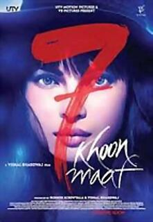 7 Khoon Maaf -(suspenso)