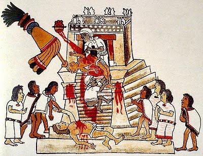 Sacrificio+azteca