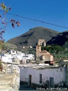 Vista Iglesia y Castillo Gérgal