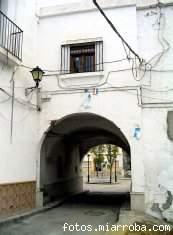 Entrada Plaza Vieja por soportal Ayuntamiento Gérgal