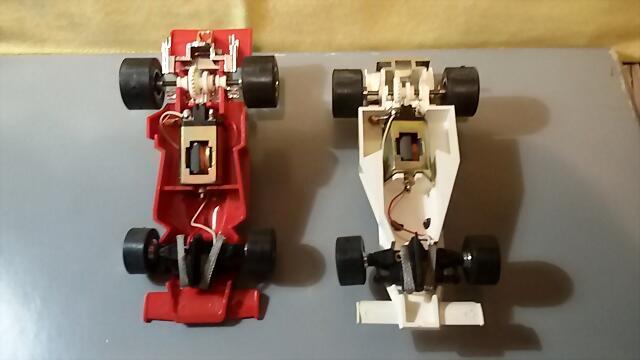 Airfix McLaren & Ferrari (5)