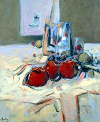Tres frutas rojas