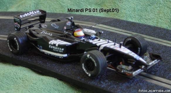 Minardi PS-01 del nano