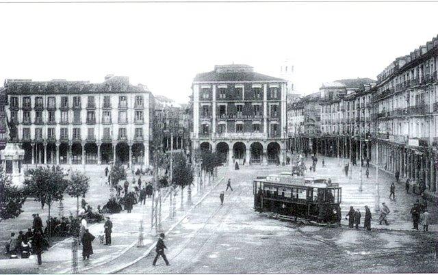 Madrid, tranvías. Foto tomada de internet