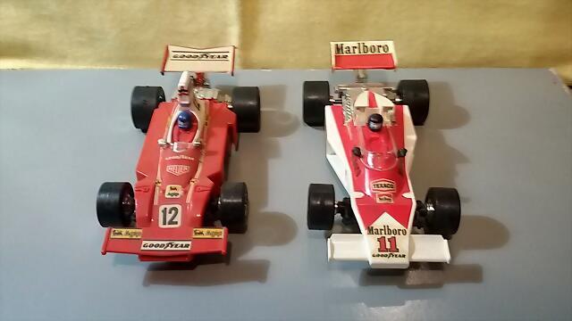 Airfix McLaren & Ferrari (3)
