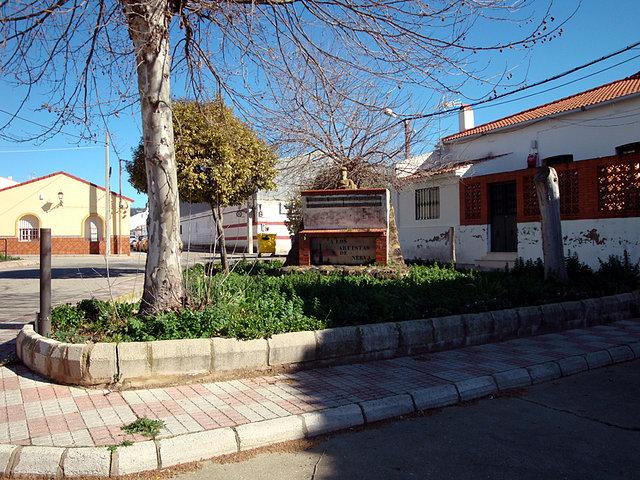 Plaza de los artistas de Nerva