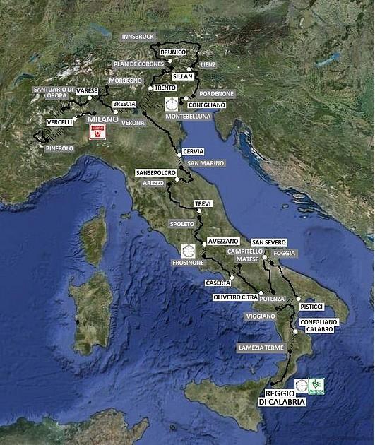 mapa de italia 2