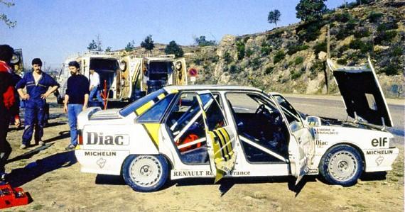 Renault 21 Turbo Gr N 1988 Tour de Corse Bugalsky 02