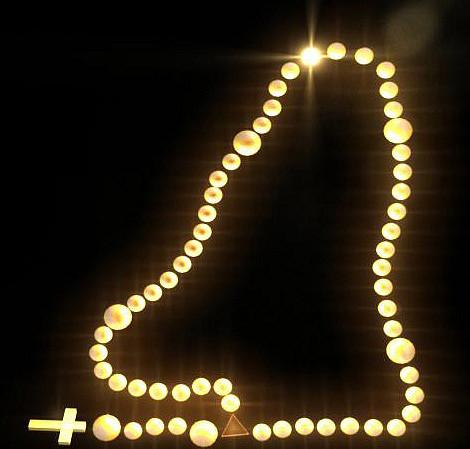 rosario iluminado