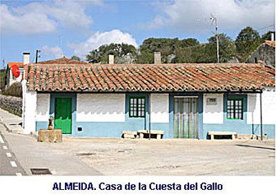 ALMEIDA. Casas en la Cuesta del Gallo