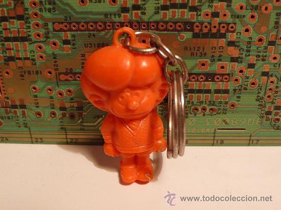 Zipi o Zape plástico naranja