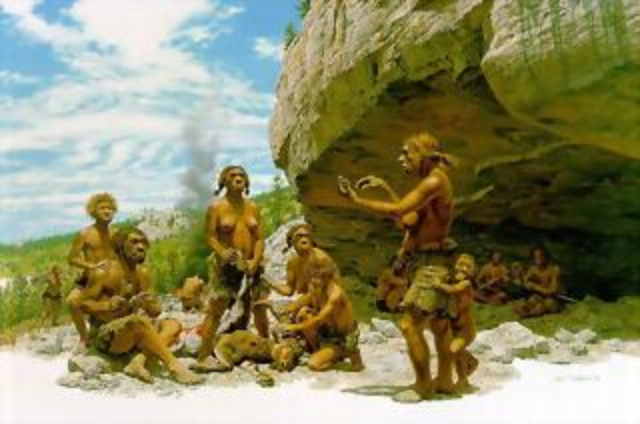 ozono21. Los neandertales pudieron tener hijos con los sapiens
