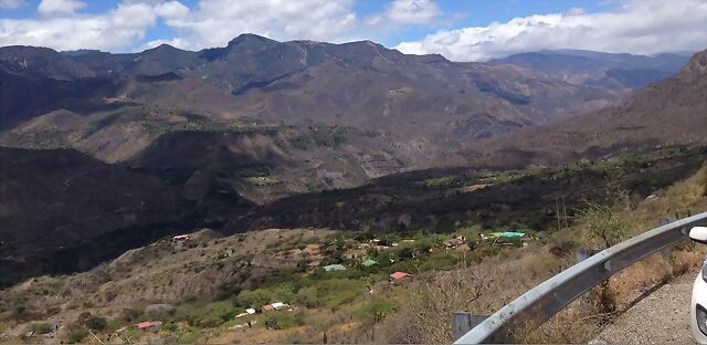 Paisaje del Cañon del Chicamocha