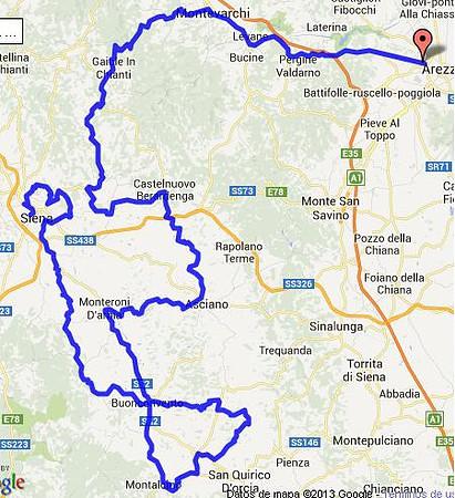 mappa sterrato