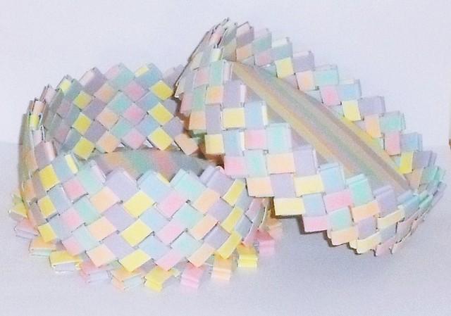 Caja en tonos pastel + tapa